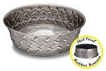 Ruff & Tuff Diamond Plate Bowl