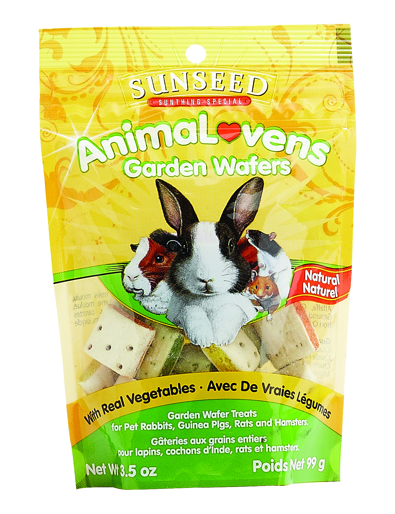 Vitakraft Sunseed AnimaLovens Garden Wafers