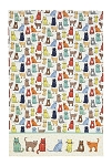 Animal Merchandise Catwalk Cotton Tea Towel