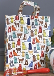Animal Merchandise Catwalk PVC Medium Shopper Bag