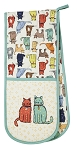 Animal Merchandise Catwalk Double Oven Gloves