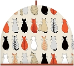 Animal Merchandise Cats in waiting Tea Cosy