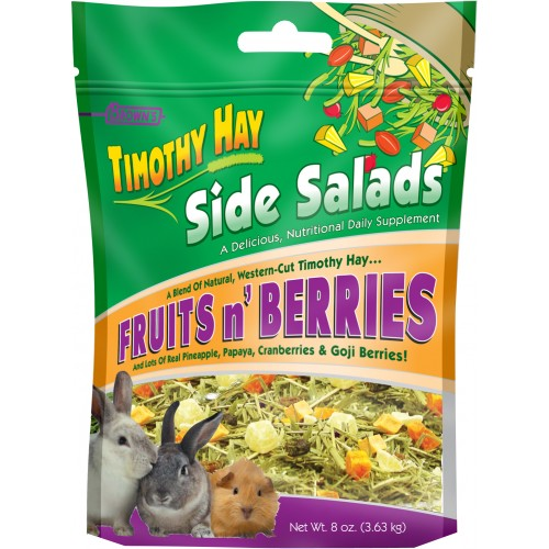 Brown's Timothy Hay Side Salads Fruits & Berries