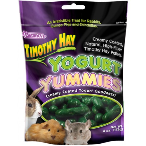 Brown's Timothy Hay Yogurt Yummie for Small Animals
