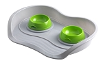 Moderna Pet Menu Bowls with Tray