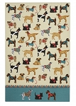 Animal Merchandise Hound Dogs Cotton Tea Towel