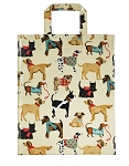 Animal Merchandise Hound Dogs PVC Medium Bag
