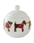 Animal Merchandise Hound Dog Sugar Bowl