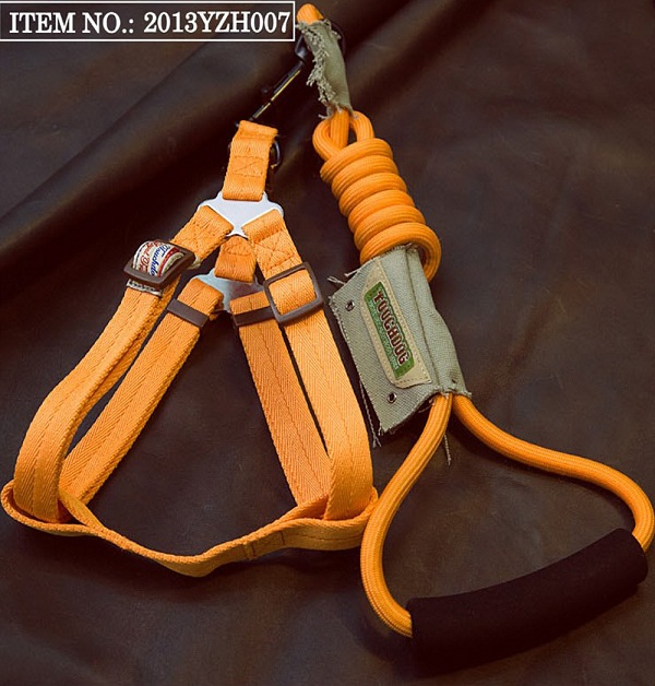 Touchdog Rope & Harness Set - Orange