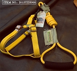 Touchdog Rope & Harness Set - Yellow