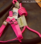 Touchdog Rope & Harness Set - Pink