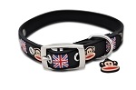 Paul Frank Rubberized Collar - Union Jack