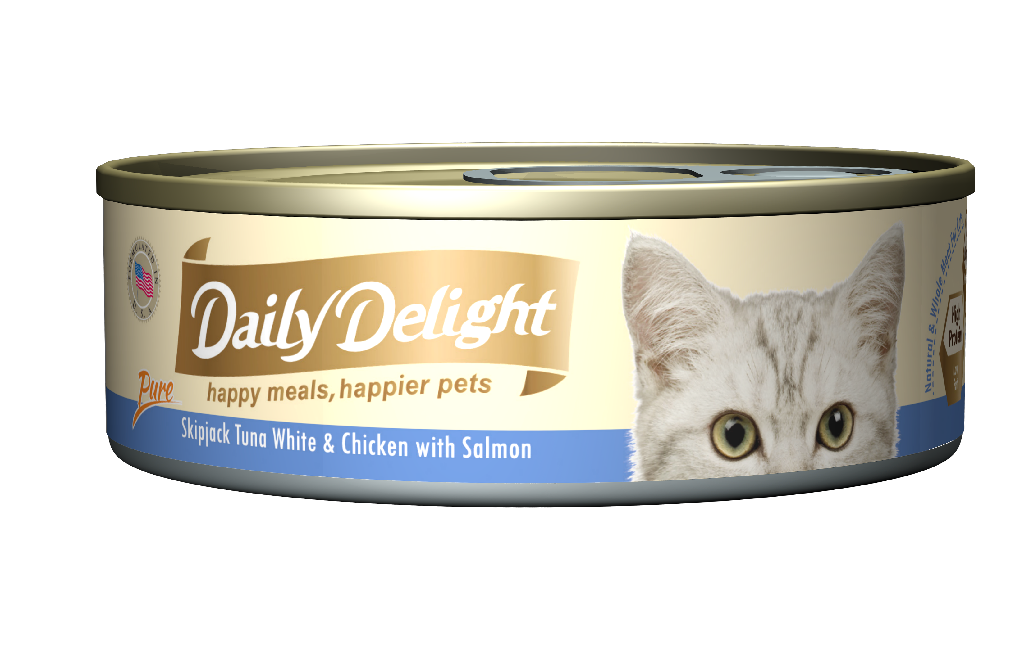 Daily Delight Skipjack Tuna White & Chicken with Salmon