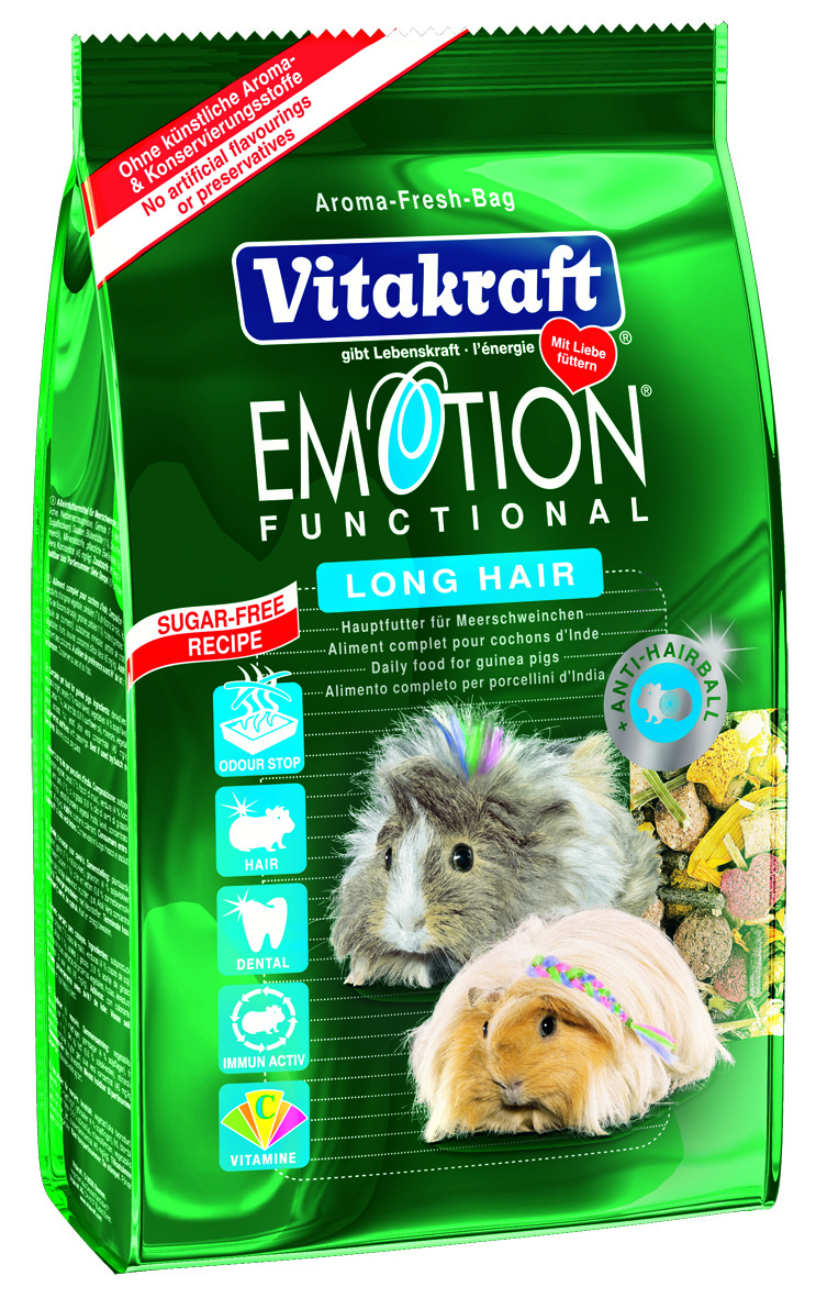 Vitakraft Emotion Long Hair for Guinea Pigs