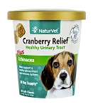 NaturVet Cranberry Relief Plus Echinacea Soft Chew Cup