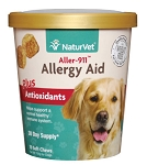 NaturVet Aller 911 Allergy Aid Plus Antioxidant Soft Chew Cup