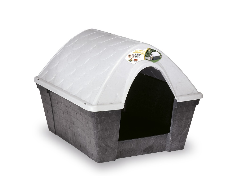 Stefanplast Happy Kennel (Dark Grey) Medium