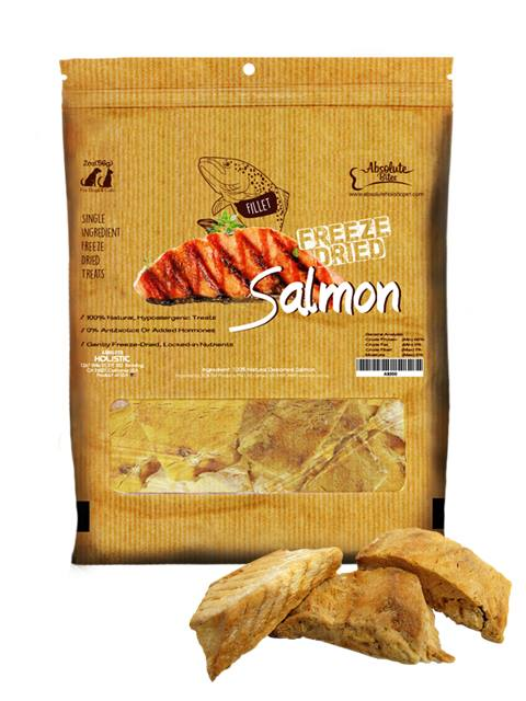 Absolute Bites Freeze Dried Salmon