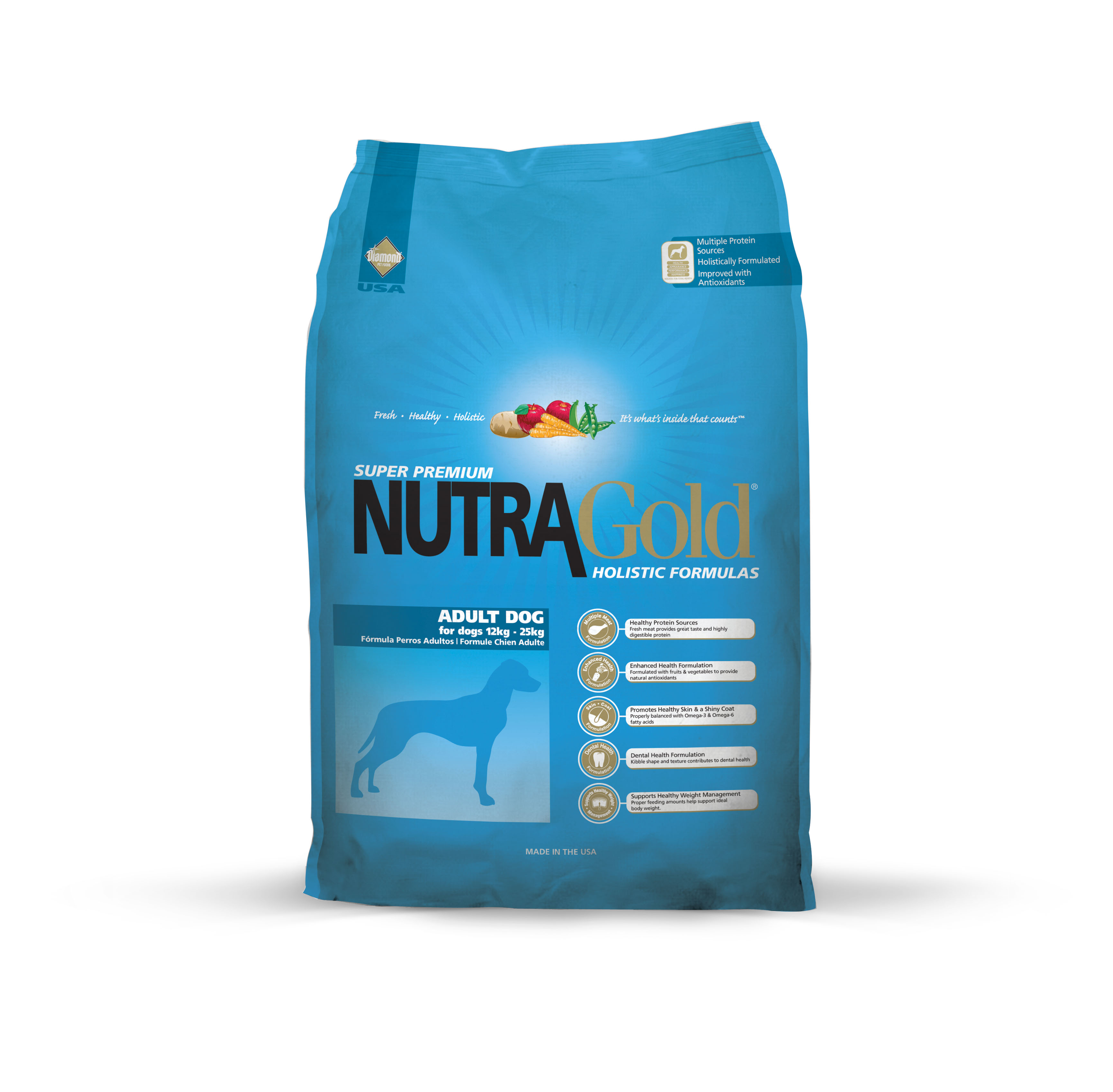 Nutra Gold Holistic Adult Dog Food