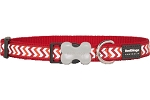 Red Dingo Dog Reflective Ziggy Collar Large