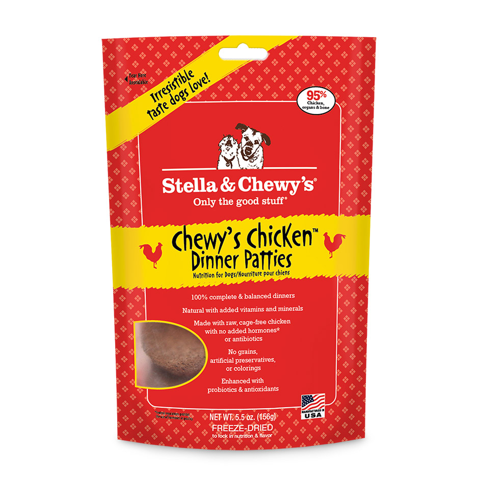 Stella Amp Chewy S Freeze Dried Patties Chewy S Chicken