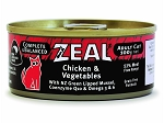 Zeal Cat Canned Food Chicken Vegetable
