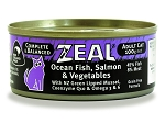 Zeal Cat Canned Food Ocean Fish ,Salmon & Vegetable
