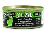 Zeal Cat Canned Food Lamb,Pumpkin & Vegetable