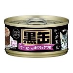 Aixia Kuro-can mini Tuna & Skipjack w/Salmon 80g