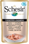 Schesir Cat Pouch Tuna With Salmon 50g