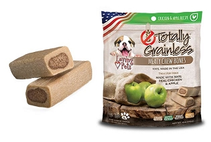 Loving Pets Totally Grainless Chicken and Apple Recipe Meaty Chew Bones