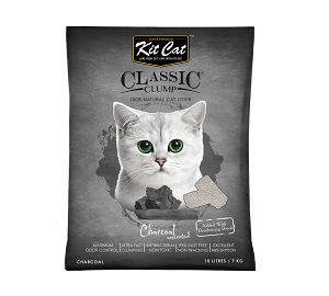 KitCat Charcoal Clumping Cat Litter
