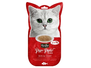 KitCat Purr Puree Plus+ (Skin & Coat - Tuna)