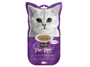 KitCat Purr Puree Plus+ (Collagen Care - Tuna)