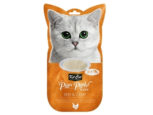 KitCat Purr Puree Plus+ (Skin & Coat - Chicken)