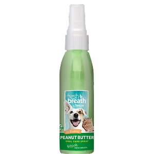 Tropiclean Peanut Butter Oral Care Spray