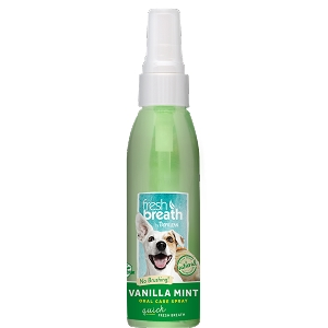Tropiclean Vanilla Mint Oral Care Spray