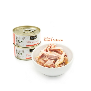 KitCat Ocean Pure Deboned Tuna & Salmon 80g