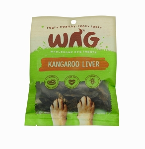 WAG Kangaroo Liver Treats