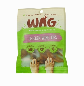 WAG Chicken Wing Tips Treats