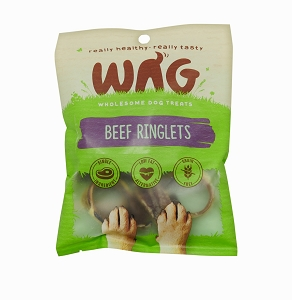WAG Beef Ringlets Treats