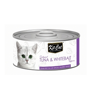 KitCat Deboned Tuna & Whitebait Toppers 80g