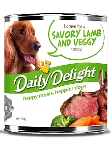 Daily Delight Savory Lamb and Veggy