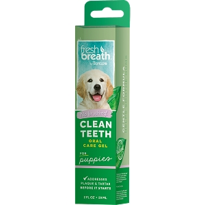 Tropiclean Fresh Breath Puppy Clean Teeth Gel 2oz