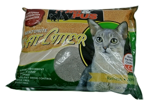 Tom & Pus Bentonite Cat Litter Apple