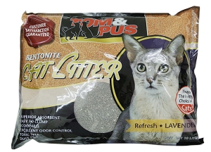 Tom & Pus Bentonite Cat Litter Lavendar