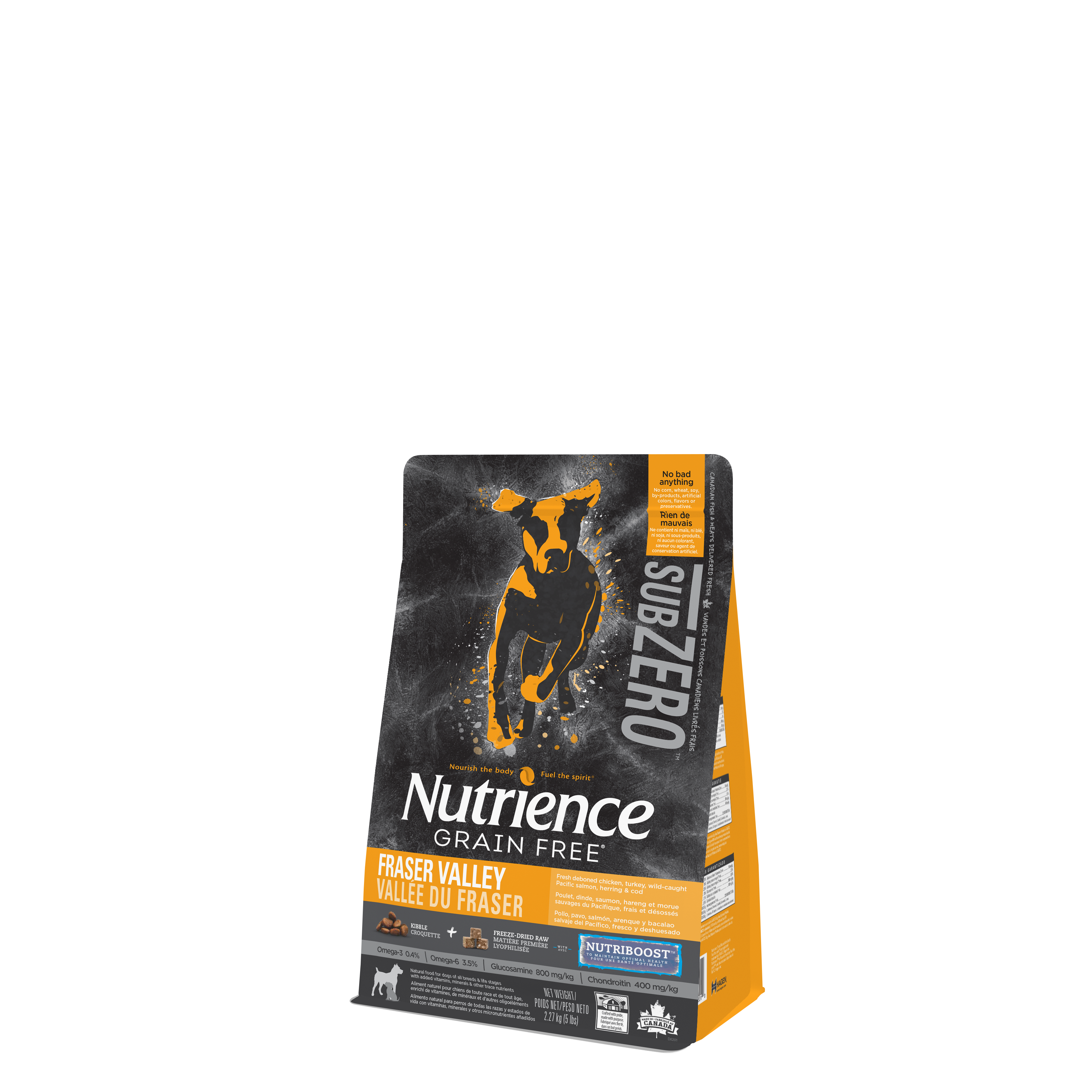 Nutrience Subzero Dog Fraser Valley Formula