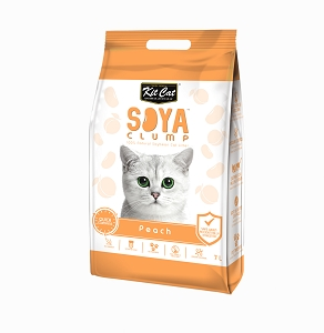 Kit Cat SoyaClump Soybean Litter Peach
