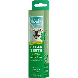 Tropiclean Fresh Breath Brushing Gel For Dogs 2oz