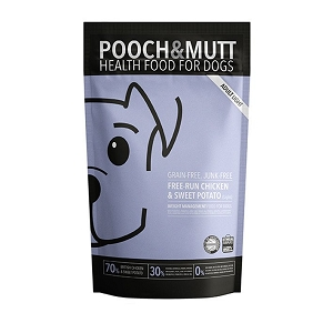 Pooch & Mutt Adult Light Grain Free Complete Natural Dog Food Aid Weight Management